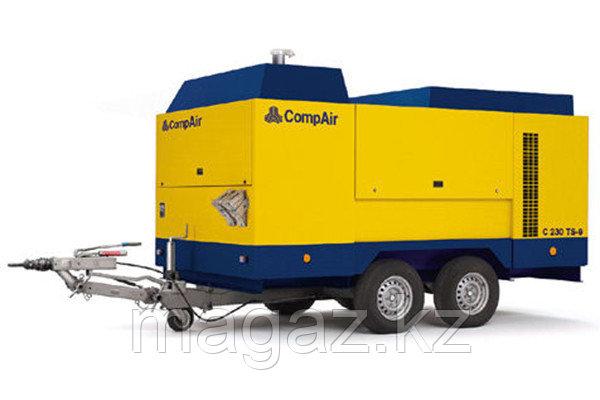 Компрессор дизельный CompAir C230TS-9, фото 2