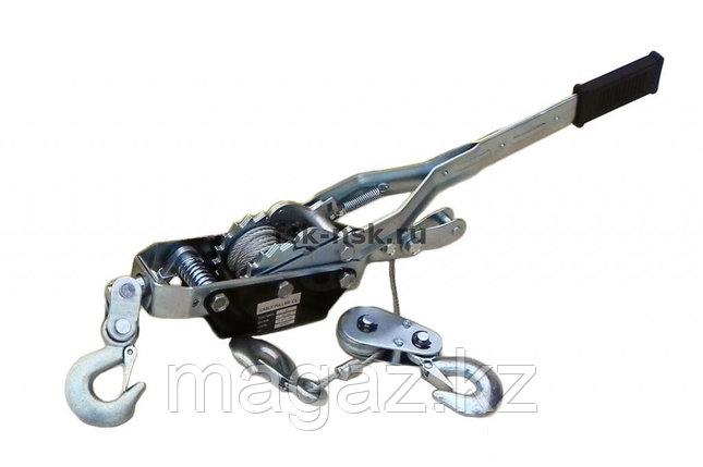Лебедка рычажная гаражная  SDB8041 (двойной храповый механизм), фото 2