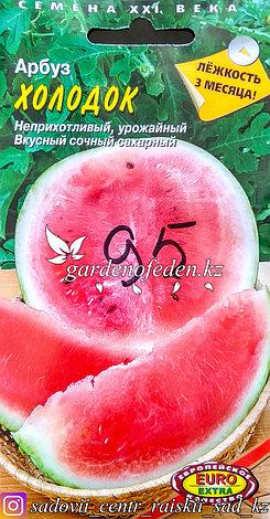 """Семена пакетированные Euro Extra. Арбуз """"Холодок"""", фото 2"""