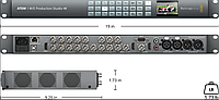 Blackmagic Design ATEM 1 M/E Production Studio 4K, фото 1