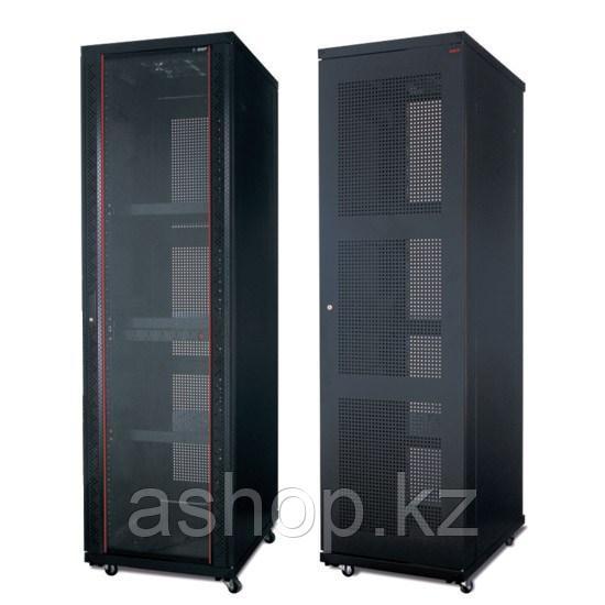 """Шкаф серверный напольный разборный SHIP 124 601.6242.24.100, Вместимость: 42Ux19"""", Глубина: 1200мм, Нагрузка ("""
