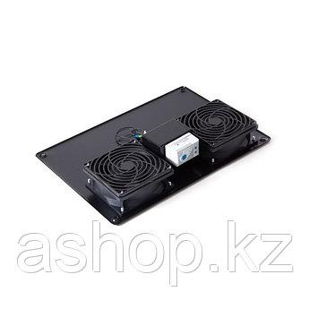 Вентиляторная панель SHIP 700402112Т, 120 x 120 x 38 мм x 2 шт., Автомат Вкл/Выкл, Цвет: Чёрный