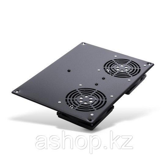 Вентиляторная панель SHIP 700402112, 120 x 120 x 38 мм x 2 шт., Цвет: Чёрный