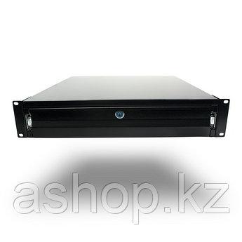 Ящик для шкафов и стоек SHIP 702302100, Цвет: Чёрный