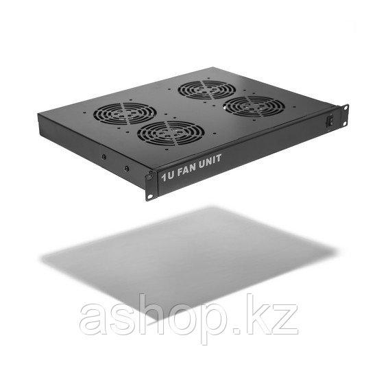 Вентиляторная панель SHIP 700404122, 120 x 120 x 38 мм x 4 шт., Цвет: Чёрный, металлик