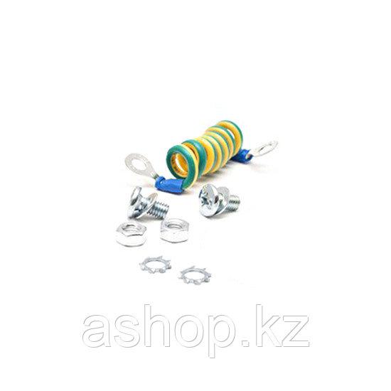 Комплект заземления SHIP 701603001, Длина: 0,3 м, Цвет: Жёлто-зелёный