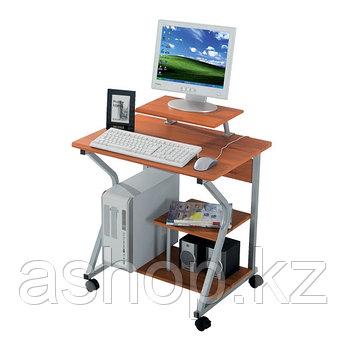 Стол компьютерный Deluxe Franko, Материал: МДФ, Цвет: Ореховый, (DLFT-218S)