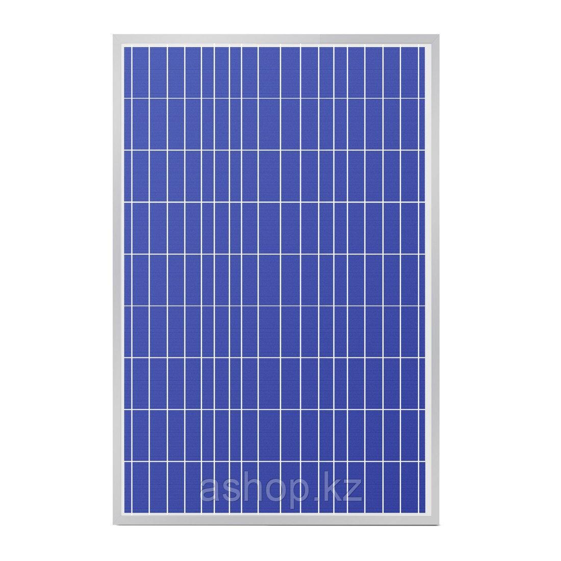 Солнечная панель поликристалическая SVC P-140, Мощность: 140 Вт, Напряжение: 12В, Цвет: Синий, Упаковка: Короб