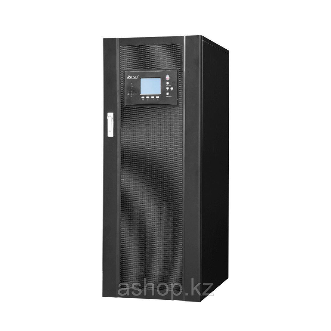 Инвертор SPV SPV-L-40000, Мощность нагрузки: 40 кВА, Питание: 380 В, 50 Гц, Выход: 380 В, Клемма, Чёрный