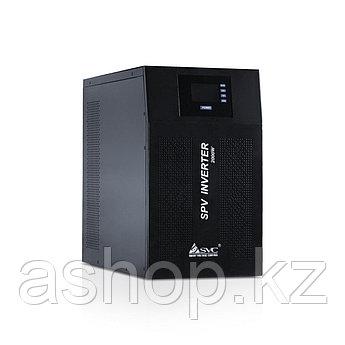 Инвертор SPV SPV-L-2000, Мощность нагрузки: 2 кВА, Питание: 220 В, 50 Гц, Выход: 220 В, Розетка Schuko *2 шт +