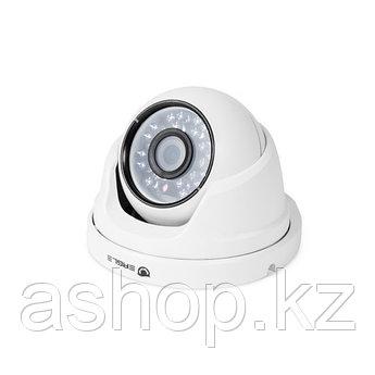 Камера Аналоговая купольная Eagle EGL-CDM420H, Разрешение: 1200 ТВЛ, Тип объектива: фиксированный f= 3,6 мм, И