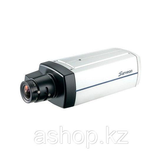 Камера IP классическая Surveon CAM2441, Разрешение: 3 Mpi dpi, Тип объектива: сменный C/CS, Цвет: Белый