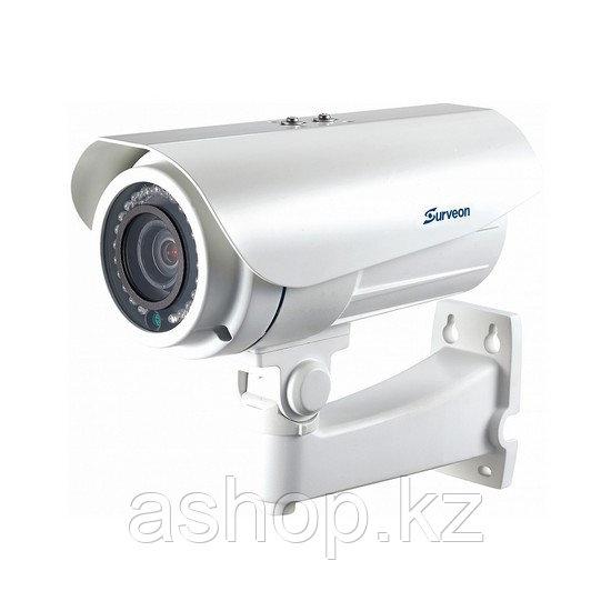 Камера IP цилиндрическая Surveon CAM3571VP, Разрешение: 5 Мpi dpi, Тип объектива: вариофокальный, f=3,3 - 10,5