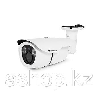 Камера аналоговая цилиндрическая Eagle EGL-CBL390H, Разрешение: 1200 ТВЛ, Тип объектива: вариофокальный f= 2,8