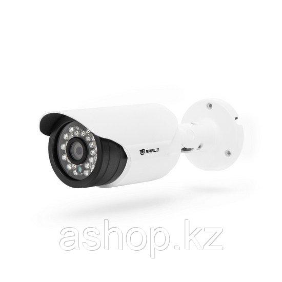 Камера HD-SDI цилиндрическая Eagle EGL-SBL360, Разрешение: 2 Mpi dpi, Тип объектива: фиксированный f= 6 мм, ИК