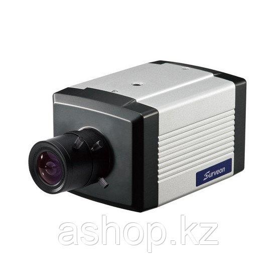 Камера IP классическая Surveon CAM2311SC-2, Разрешение: 2 Mpi dpi, Датчик движения, Цвет: Белый