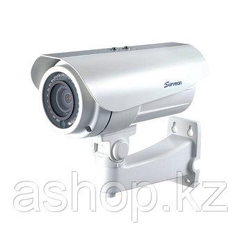 Камера IP цилиндрическая Surveon CAM3471M, Разрешение: 3 Mpi dpi, Тип объектива: автофокус f=3 - 9 мм, Цвет: Б