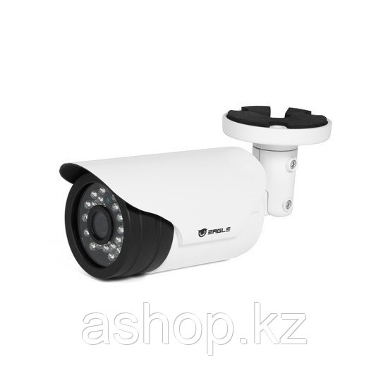 Камера IP цилиндрическая Eagle EGL-NBL380, Разрешение: 4 Mpi dpi, Тип объектива: фиксированный f= 3,6 мм, Цвет