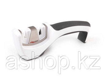 Точило для ножей Smith`s KitchenIQ™ Pull-Thru, Цвет: Белый, Упаковка: Розничная, (Carbide/Ceramic)