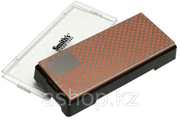 Точило для ножей и других инструментов Smith`s Diamond Bench Stone 6 - Fine, Цвет: Чёрно-оранжевый, Упаковка: