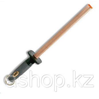 """Точило для ножей Smith`s Sharpener 10"""" Oval Diamond Sharpening Rod, Цвет: Оранжево-серый, Упаковка: Розничная,"""