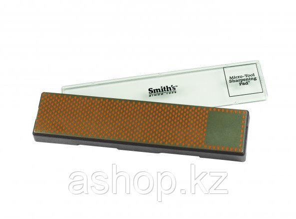Точило для ножей и других инструментов Smith`s Diamond Bench Stone 11,5 - Fine, Цвет: Чёрно-оранжевый, Упаковк