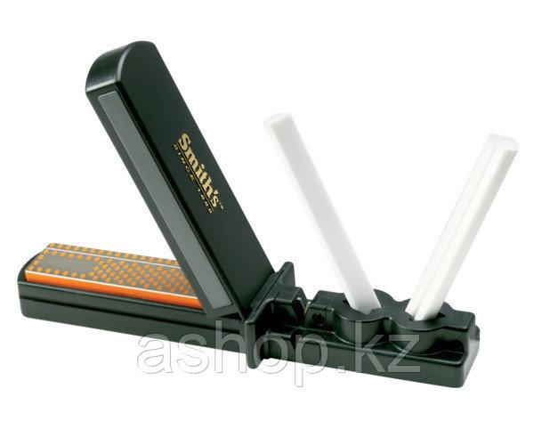 Точило для ножей Smith`s Sharpener 3in1 Sharpening System ( CCD4), Цвет: Оранжево-чёрный, Упаковка: Розничная,