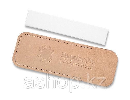 Точило для ножа Spyderco Pocket Stone Fine, Цвет: Бело-коричневый, Упаковка: Розничная, (303F)