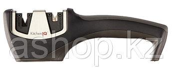 Точило для ножей и ножниц Smith`s KitchenIQ Diamond, Цвет: Чёрный, Упаковка: Розничная, (Pro Pull-Thru)