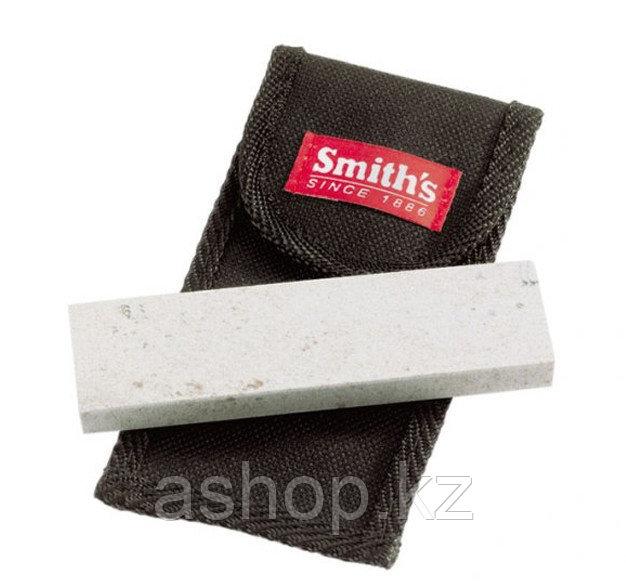 Точило для ножей Smith`s Sharpener Medium Arkansas Stone, Цвет: Серо-чёрный, Упаковка: Розничная, (MP4L)