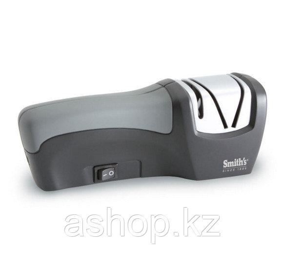 Точилка электрическая для ножа Smith`s Edge Gourmet Compact, Цвет: Серый, Упаковка: Розничная, (50073)