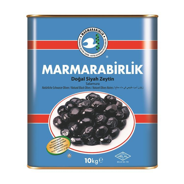 Оливки черные 321-350 Siyah Zeytin