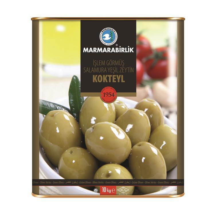 Оливки зеленые Kokteyl yeşil zeytin
