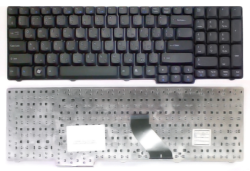 Клавиатура для ноутбука Acer Aspire 8730 8730/G 8730G 8730Z 8730ZG