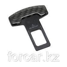 Заглушка замка ремня безопасности (под карбон) (2 шт.), фото 2