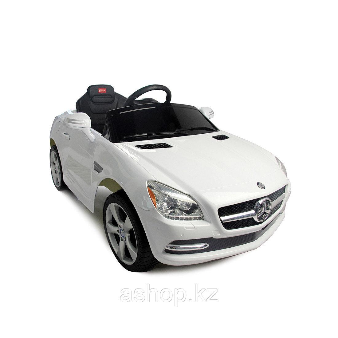 Электромобиль детский Rastar Mercedes-Benz SLK, Цвет: Белый, Упаковка: Коробка, (81200W)