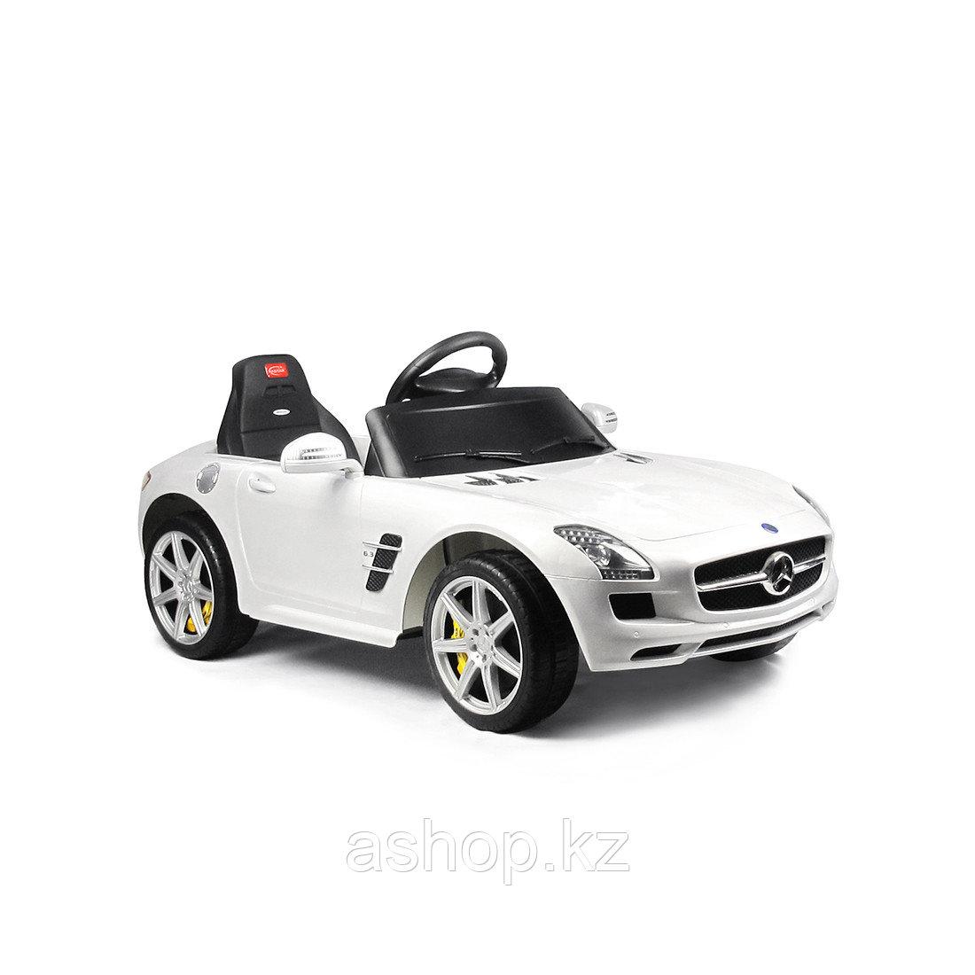 Электромобиль детский Rastar Mercedes-Benz SLS AMG, Цвет: Белый, Упаковка: Коробка, (81600W)