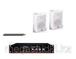 Комплект с настенной акустикой Beta-Sound до 50 м2 (для кафе, баров, ресторанов)