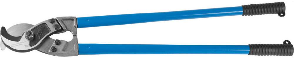 """(23341-80) Кабелерез ЗУБР """"ЭКСПЕРТ"""" для резки небронированного кабеля из цв металлов,сталь У8А"""