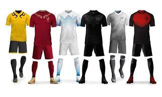 Футбольная форма и гетры