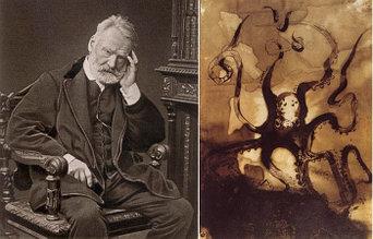 Кофейная живопись Виктора Гюго: Неизвестный талант известного писателя