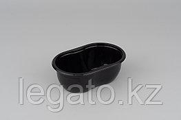 Емкость СпК-1409-375мл 141*92*50,5мм черная (900)
