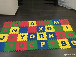 Коврик-пазл детский «Английский Алфавит»