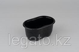 Емкость СпК-1409-500мл 141*92*68,5мм черная (900)