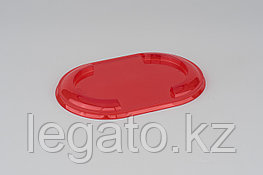 Крышка к емкости СпК-1409К 146*97*11,6мм красная (900)
