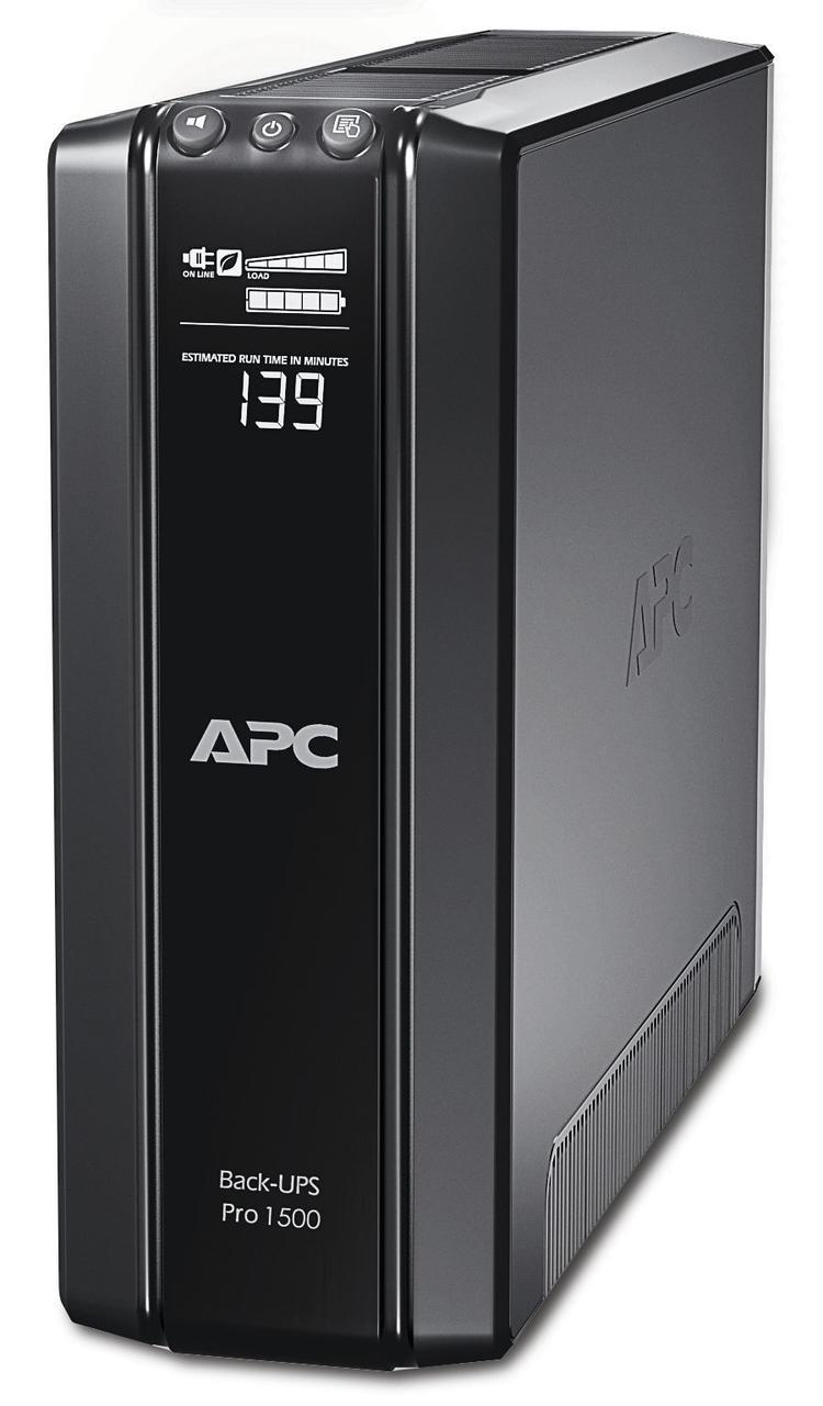 BR1500GI APC Power-Saving Back-UPS Pro 1500, 230V, функцией энергосбережения