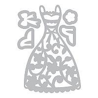 Набор ножей для вырубки из 5 предметов платье и обувь от Дена Дизайн.