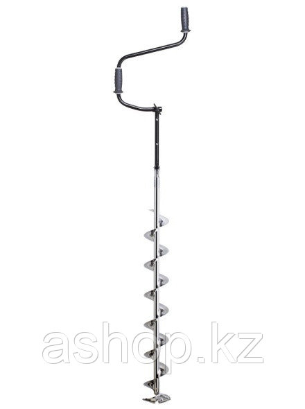 Ледобур складной Mora Chrome 150, Рукоять: Со встроенным удлинителем, Диаметр: 150 мм, Толщина льда: 1620 мм,