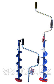 Ледобур ручной Mora Ice Easy 125, Рукоять: Цельная, Диаметр: 125 мм, Толщина льда: 900 мм, Цвет: Синий, Упаков