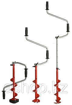 Ледобур складной Mora Ice Micro 110, Рукоять: Со встроенным удлинителем, Диаметр: 110 мм, Толщина льда: 880 мм